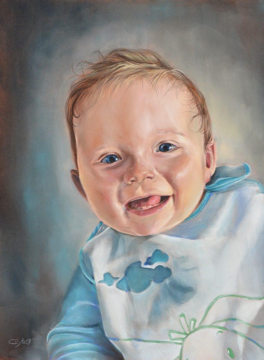 Portrait de mon neveu Gianni