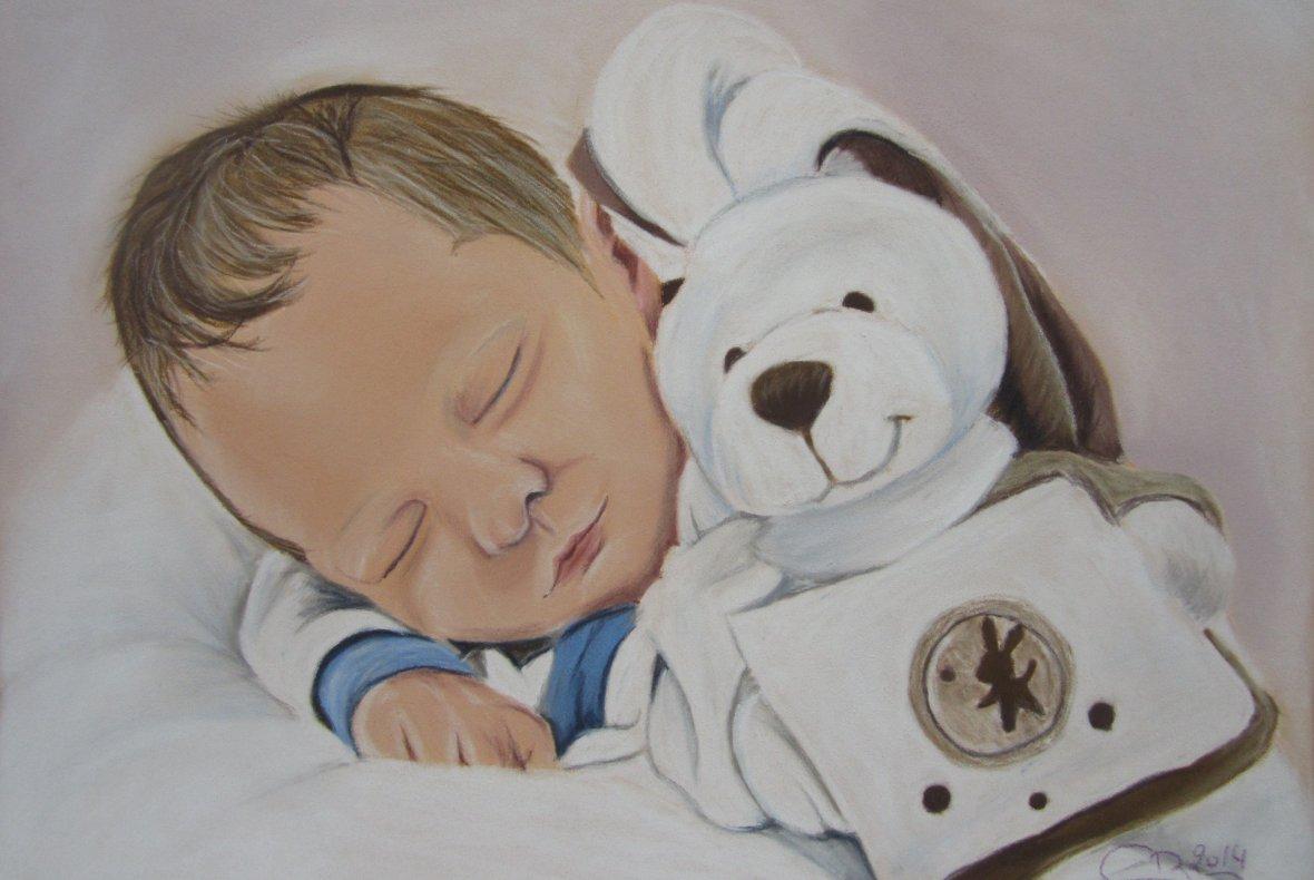 Portrait de mon neveu Noé