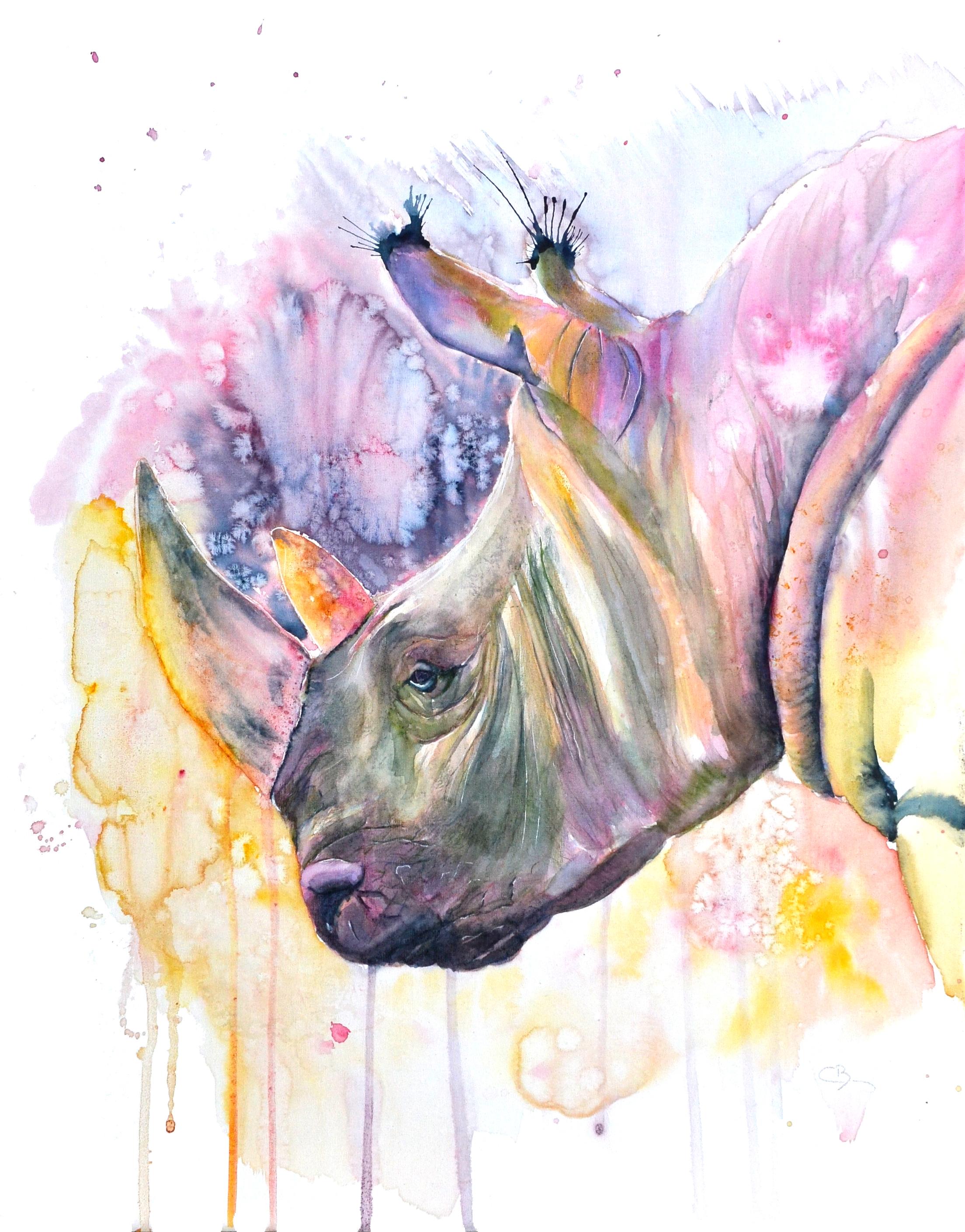 Rhinocéros surréaliste