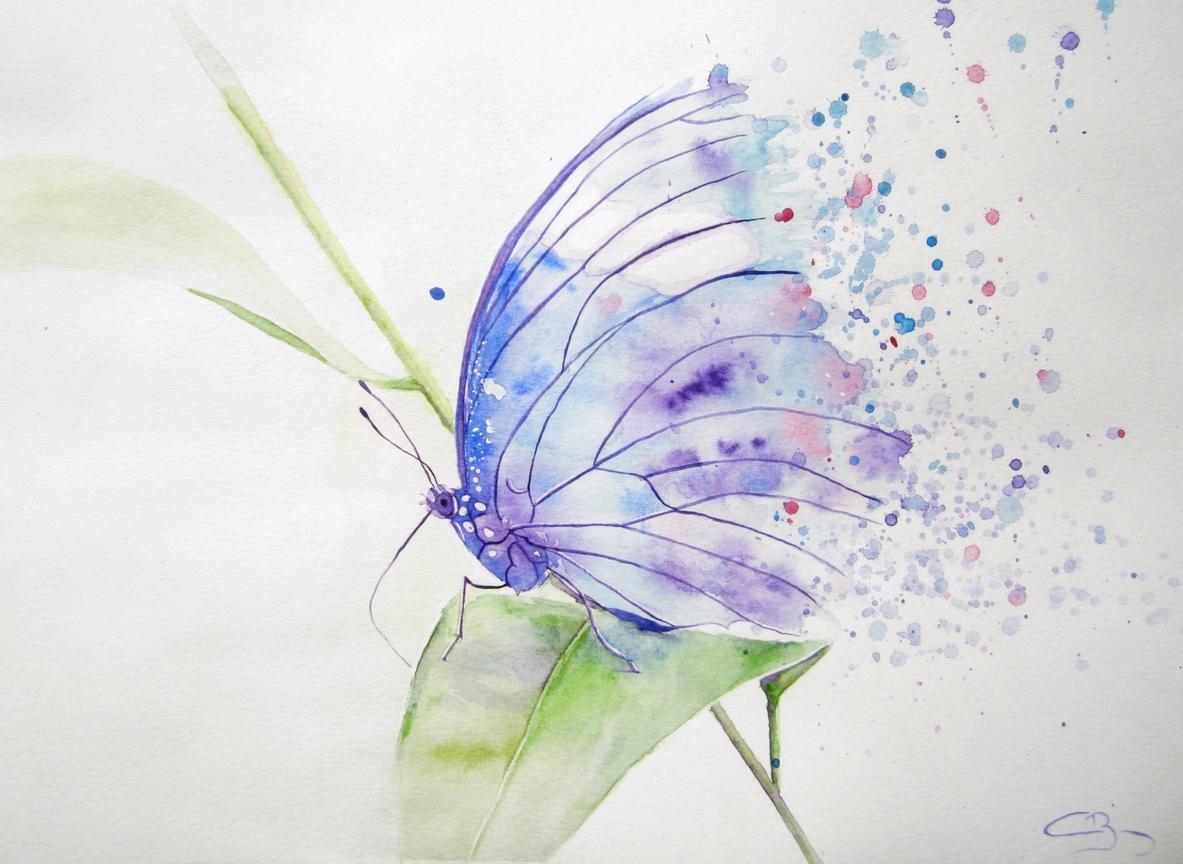 Peinture animali re artiste animalier for Aquarelle facile