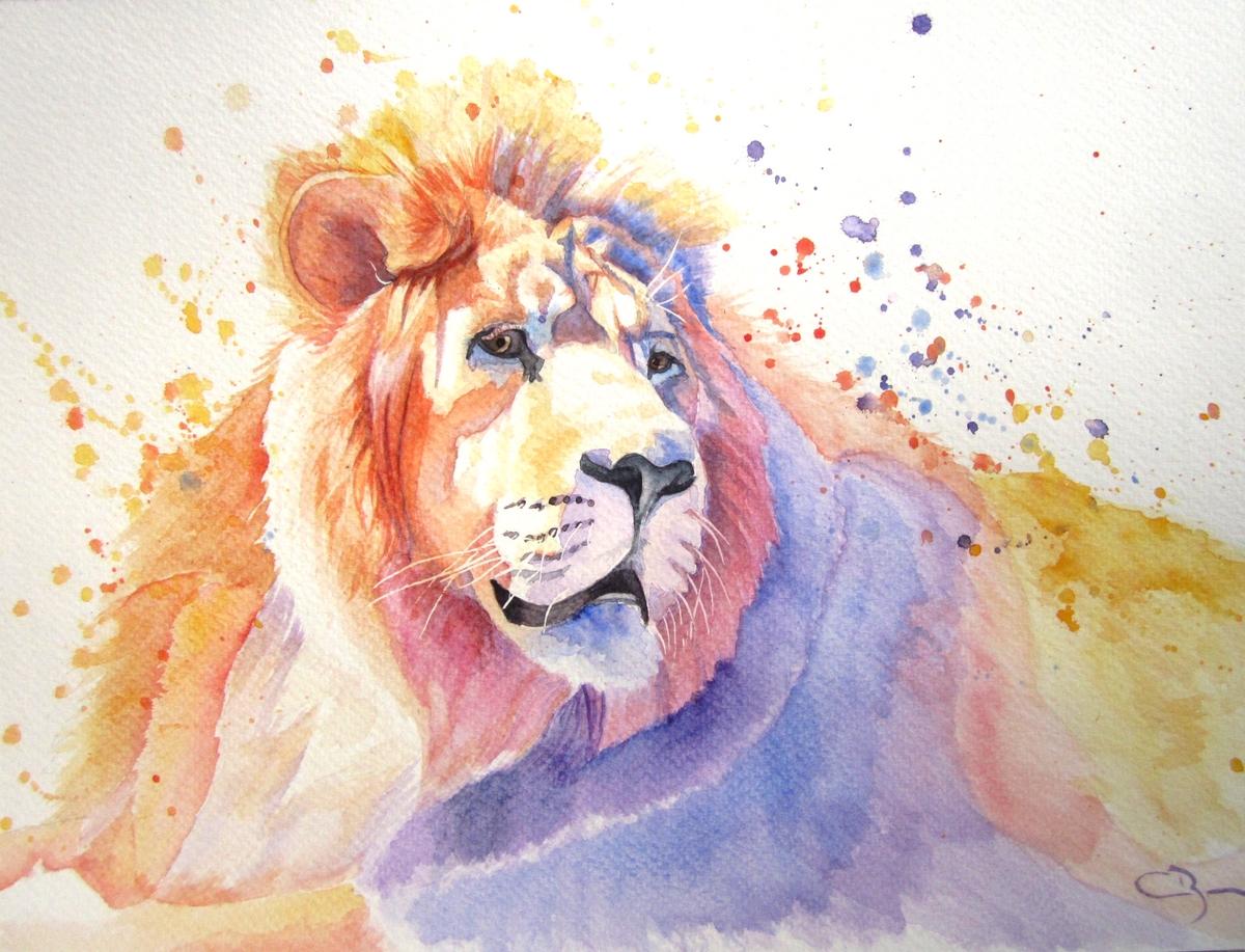 Lion surréaliste